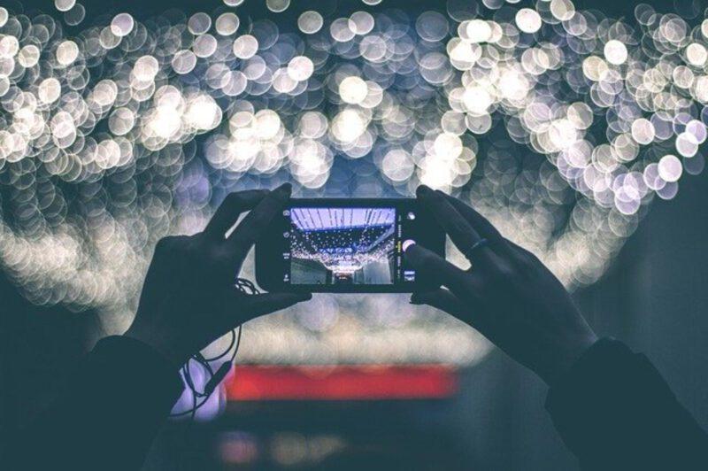 Telefon a fotografia